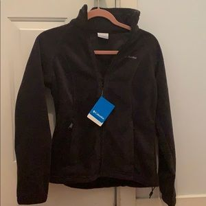 Columbia Black Fleece Jacket